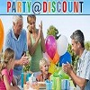 Party @ Discount Icon