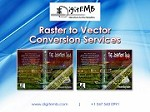 Raster to Vector Conversion Services Icon