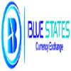 Blue States Currency Exchange Icon