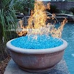 Outdoor fire pit Icon
