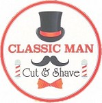 Classic Man Cut & Shave Icon