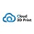Cloud 3D Print Icon