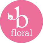 B Floral Icon