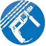 Drill Bit Warehouse Icon