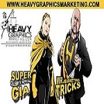 Heavy Graphics Marketing Icon