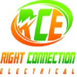 Right Connection Electrical Icon