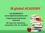 IB global academy Icon