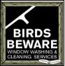 Birds Beware Window Washers Icon