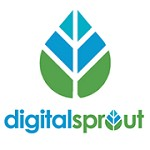 Digital Sprout Icon