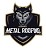 Black Wolf Metal Roofing Icon