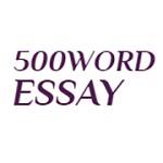 500 Word Essay Service Icon