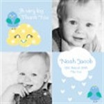 Sleepy Moon Baby Cards Icon