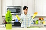 Latina's House Cleaning Icon