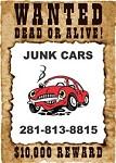 Houston Junk Car Buyer Icon