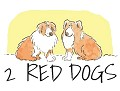 2 Red Dogs Icon