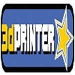 3D Printer Star Icon