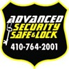 Advanced Security Safe and Lock Icon