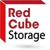 Red Cube Storage Icon