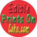 Edible Prints on Cake Icon