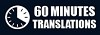 60 Minutes Translations Icon