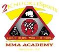 2 Knuckle Sports MMA Academy Icon