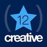 12 Star Creative Icon