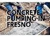 Concrete Pumping In Fresno Icon