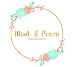 Mint and Peach Photography Icon