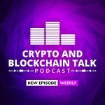 Crypto and Blockchain Talk Icon