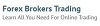 Forex Brokers Trading Icon