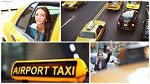 24/7 Airport Taxi Transportation Icon