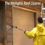 The Memphis Roof Cleaner Icon