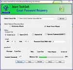 Atom TechSoft Excel Password Unlocker Tool Free