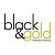 Black And Gold Events Icon