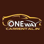 One Way Car Rental Icon