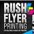 Rush Flyer Printing Icon