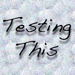 Testing This Icon