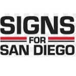 Signs for San Diego