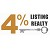 4 Percent Listing Realty Icon