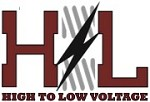 High to Low Voltage Icon