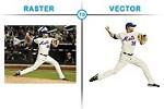 Convert Raster to Vector Icon