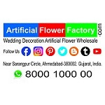 Artificial Flower Factory Icon