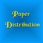 Paper Distribution  Icon
