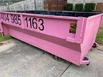 The Pink Dumpster Icon
