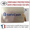 Protection carte bancaire sans contact RFID . ANTI PIRATAGE Icon