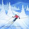Modern Ski + Snowboard Posters Icon