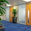 Glass office Partitions London Icon