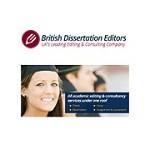 British Dissertation Writing Specialist & Editors Icon