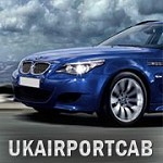 London Airport Taxi Icon