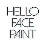 Hello Face Paint Icon